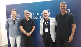 Presidente mundial do Instituto Campus Party se reúne com membros do Grupo Uniftec